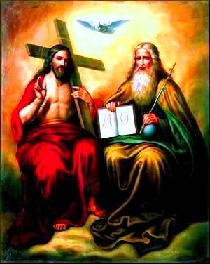 Sib pab thov ntuj thiab hais Saw Mab Liab Holy_trinity.jpg?0