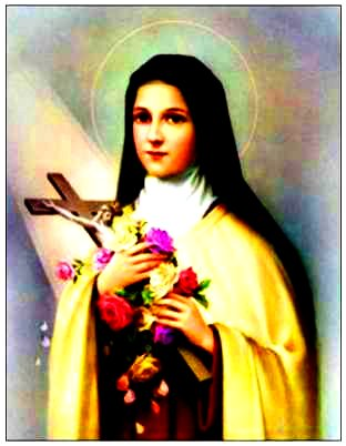 St. Therese, the Little Flower, was a French Carmelite nun in Lisieux who died of tuberculosis at the young age of 24. She was born in 1873, died in 1897, ...